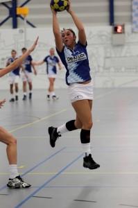 Naomi in haar debuut in the League 3