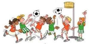 Plaatje korfbal minis
