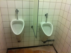 Nieuwe urinoirs