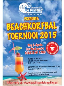 Beachkorfbal Branding