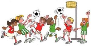 Korfbal plaatje animatie