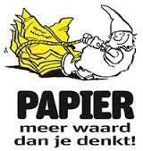 Papier meer waard dan je enkt